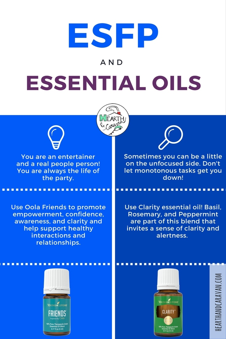 ESFP-Your MBTI Personality Type and Essential Oils