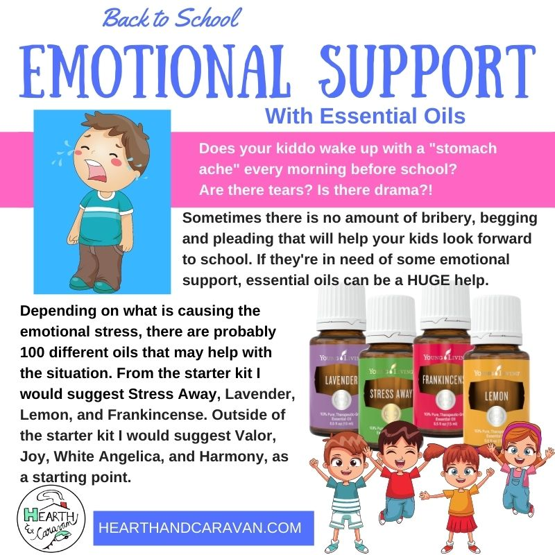 Back to School With Essential Oils--Emotional Support