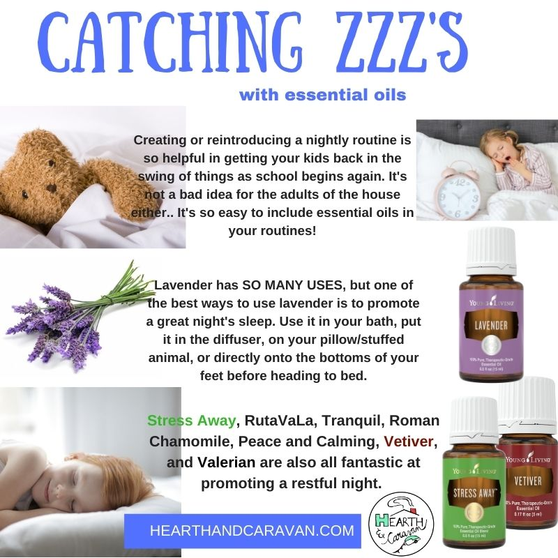 Back to School With Essential Oils--Promoting a Restful Night